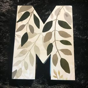 Celebrate It Letter M Box for Gifting, Decorating